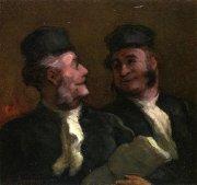 ein Gemälde von Rechtsanwälten
